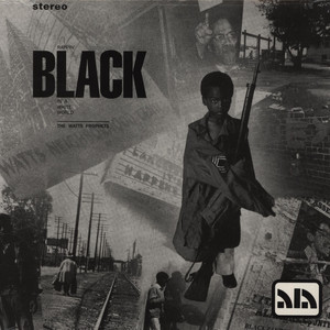 WATTS PROPHETS, THE - Rappin black - LP