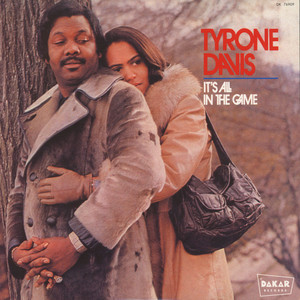 TYRONE DAVIS - It's All In The Game - LP