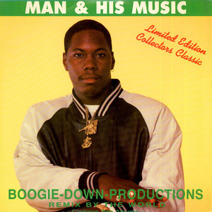 BOOGIE DOWN PRODUCTIONS - Man & His Music - 33T x 2