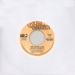 CULTURE & ANTHONY B - Two sevens clash - 7inch x 1