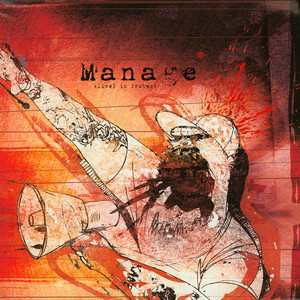 MANAGE - (Live) in protest - LP x 2