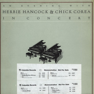HERBIE HANCOCK & CHICK COREA - An Evening With Herbie Hancock & Chick Corea In Concert 1978 - LP