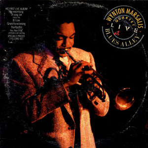 WYNTON MARSALIS - The Wynton Marsalis Quartet Live At Blues Alley - LP x 2