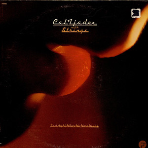 CAL TJADER - Last Night When We Were Young - LP