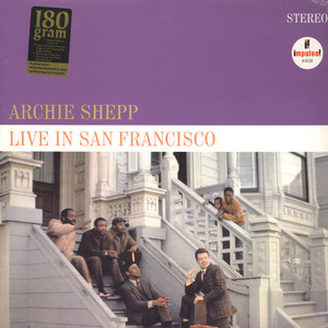 ARCHIE SHEPP - Live in San Francisco - LP