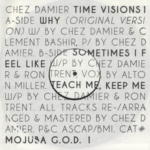 CHEZ DAMIER - Time Visions 1 - 12 inch x 1