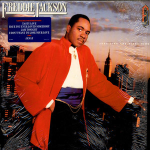 FREDDIE JACKSON - Just Like The First Time - LP