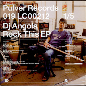 DJ ANGOLA - Rock This EP - 12 inch x 1