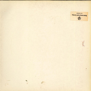 PUBLIC IMAGE LIMITED - This Is Not A Love Song - 12 inch x 1