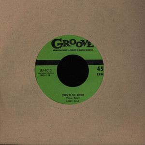 LARRY DALE - Down To The Bottom / Midnight Hours - 7inch x 1