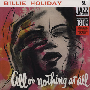 BILLIE HOLIDAY - All Or Nothing At All - LP