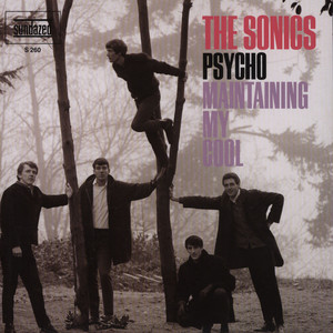 SONICS, THE - Psycho / Maintaining My Cool - 7inch x 1