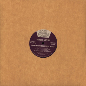 V.A. - Many Shades Of Soul Notes Volume 1 - 12 inch x 1