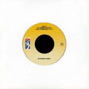 MATO - Suit & Tie / Blurred Lines - 7inch x 1