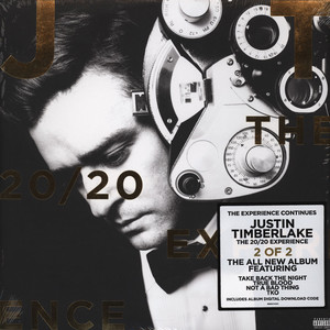 JUSTIN TIMBERLAKE - The 20/20 Experience 2 Of 2 - LP x 2