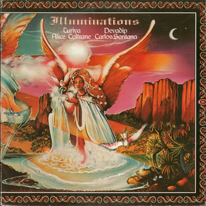 CARLOS SANTANA & ALICE COLTRANE - Illuminations - LP