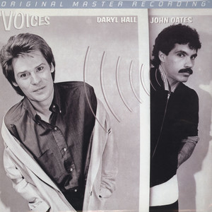 DARYL HALL & JOHN OATES - Voices - 33T