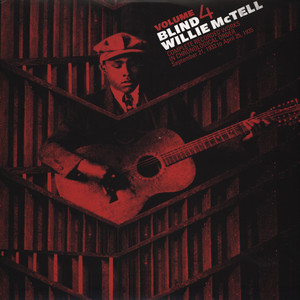 BLIND WILLIE MCTELL - Complete Recorded Works in Chronological Order Volume 4 - LP