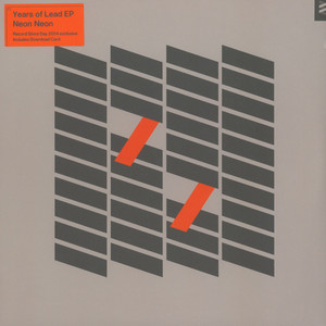 NEON NEON - Years of Lead EP - 12 inch x 1
