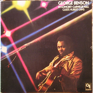 GEORGE BENSON - In Concert - Carnegie Hall - 33T
