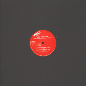 MR. FINGERS - The Complete Can You Feel It - 12 inch x 1