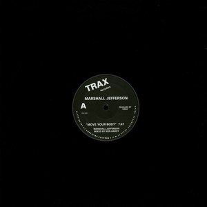 MARSHALL JEFFERSON - The House Music Anthem - 12 inch x 1