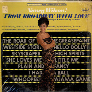 NANCY WILSON - From Broadway With Love - LP