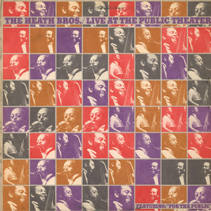 HEATH BROTHERS, THE - Live At The Public Theater - LP