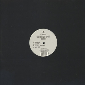 ALEX DAVIS - Don´t Stop Lovin Remixes - 12 inch x 1