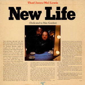 THAD JONES & MEL LEWIS - New Life (Dedicated To Max Gordon) - 33T