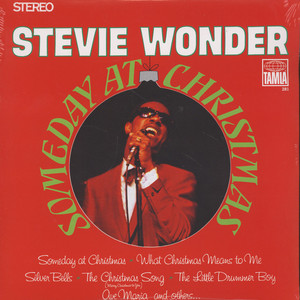 STEVIE WONDER - Someday At Christmas - 33T
