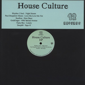 V.A. - House Culture EP - 12 inch x 1