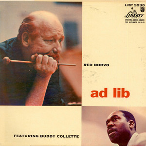 RED NORVO - Ad Lib Featuring Buddy Collette - 33T