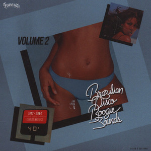 V.A. - Brazilian Disco Boogie Sounds Volume 2 - CD