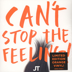 JUSTIN TIMBERLAKE - Can't Stop The Feeling - 12 inch x 1