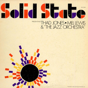 THAD JONES, MEL LEWIS & THE JAZZ ORCHESTRA - Presenting Thad Jones, Mel Lewis & The Jazz Orchestra - 33T