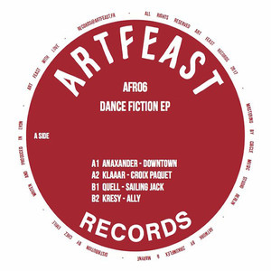 ANAXANDER, KLAAAR, QUELL & KRESY - Dance Fiction - 12 inch x 1