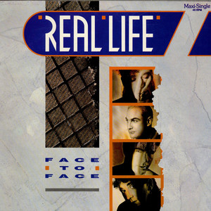 REAL LIFE - Face To Face - 12 inch x 1