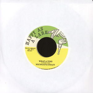MICHIGAN & SMILEY - What A Ting - 7'' 1枚