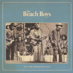 BEACH BOYS, THE - Live At The Fillmore East 1971 - 33T
