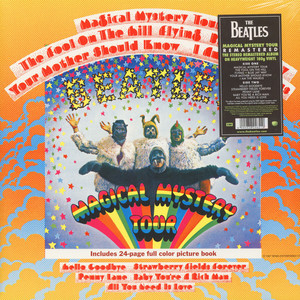 BEATLES, THE - Magical Mystery Tour - 33T