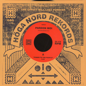 PARDON MOI - Power To The People / Touch 2 Much - 7inch x 1