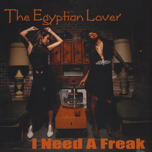 EGYPTIAN LOVER - I Need A Freak / My House On The Nile - Maxi x 1