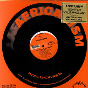AFRICANISM - ''Edony'' Clap Your Hands - 12 inch x 1