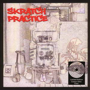 DJ T-KUT - Scratch Practice Clear Vinyl Edition - LP