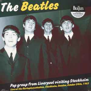 BEATLES, THE - Pop Group From Liverpool Visiting Stockholm - LP