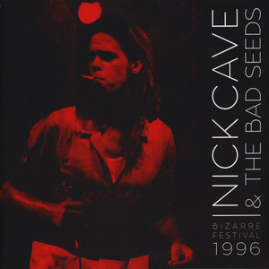 NICK CAVE & THE BAD SEEDS - Bizarre Festival 1996 Red Vinyl Edition - LP x 2