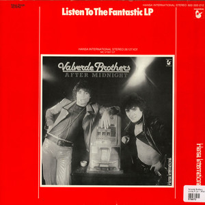 VALVERDE BROTHERS - Living A Lie / After Midnight - Maxi x 1