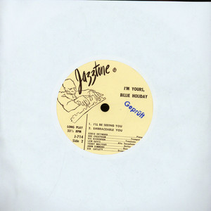 BILLIE HOLIDAY - I'm Yours - 7inch x 1