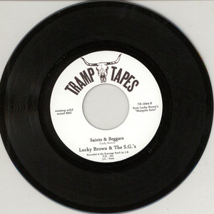 LUCKY BROWN - 'bout To Blow - 7inch x 1